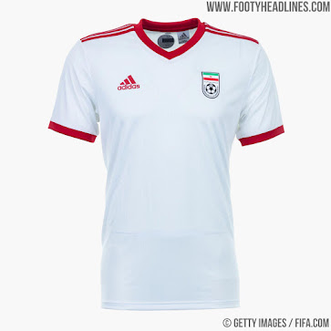 87ad95ec0 Outrageous - FIFA Forces Iran   Spain To Wear 2018 World Cup Away ...