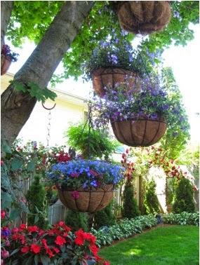 A mi manera formas bonitas para decorar el jard n - Ideas para decorar mi jardin ...