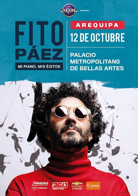 Fito Paéz en Arequipa