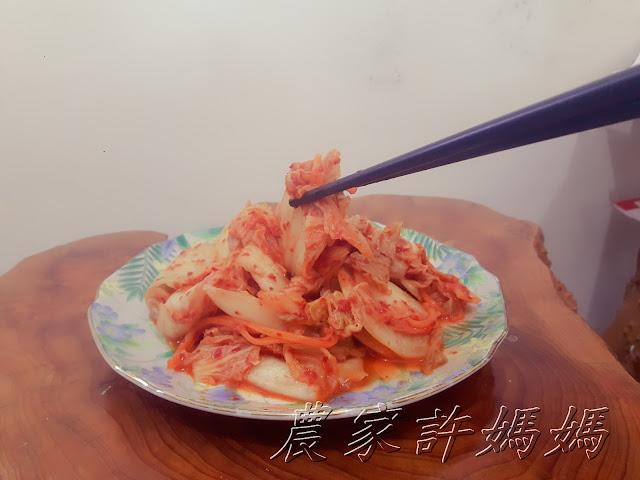 【農家許媽媽】吃起來爽度超高韓式泡菜料理食譜