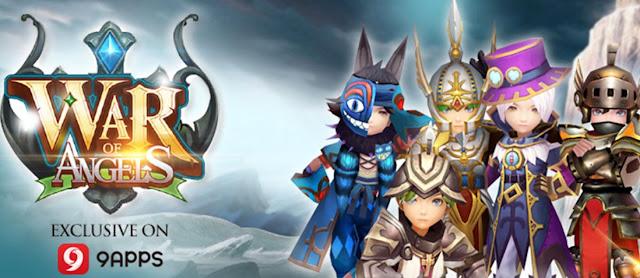 War of Angels Game RPG paling ditunggu tahun ini sekarang tersedia eksklusif di 9APPS