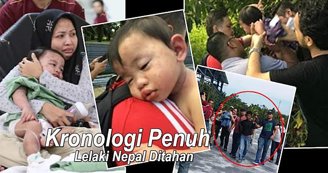 KRONOLOGI PENUH: Kes Culik Bayi Perempuan, Warga Nepal Ditahan
