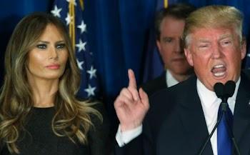Aκaτάλληλo: Η γυναίκα του Τραμπ ποζάρει ολόγ@μνη και μας τα δείχνει όλα!