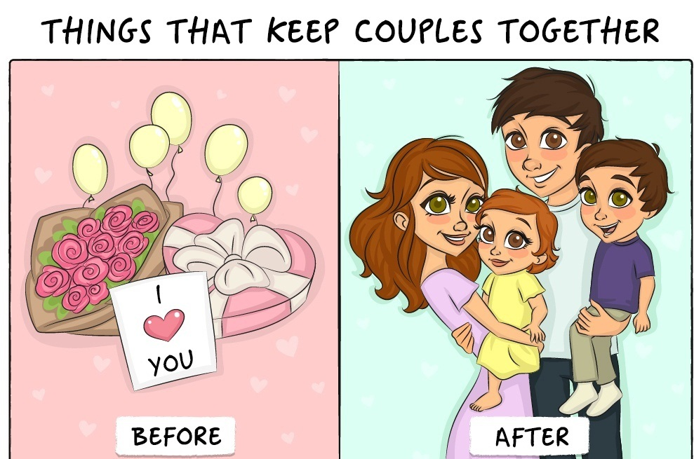 9 Funny Comics That Compare Life Before And After Marriage