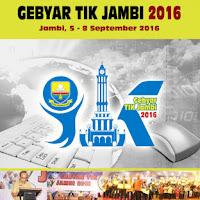Blog Ini Juara Gebyar TIK 2016 Jambi