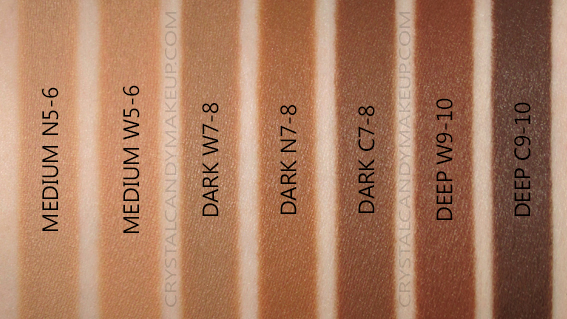 L'Oreal True Match Super-Blendable Multi-Use Concealer Swatches Medium Dark Deep N5-6 W7-8 C9-10 MAC