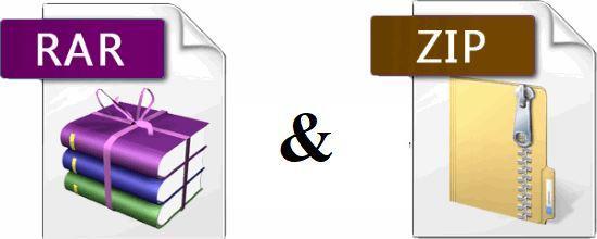 file rar dan zip, perbedaan zip vs rar
