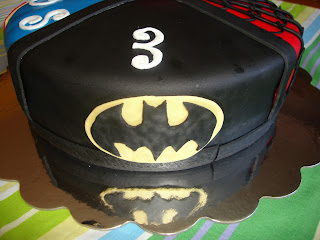 tarta superheroe batman