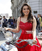 Hansika Motwani in lovely Red Mini Dress Dance Stills 03 .xyz.jpg