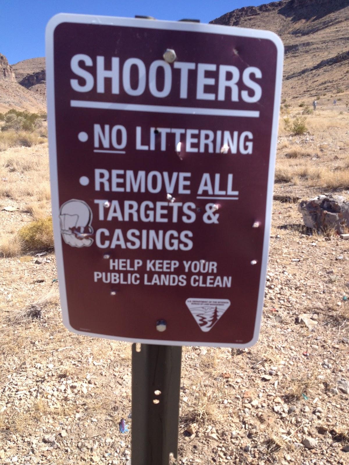 Water Canyon Recreation Area - Entrance   BLM Nevada   Flickr   Blm Nevada Shooting