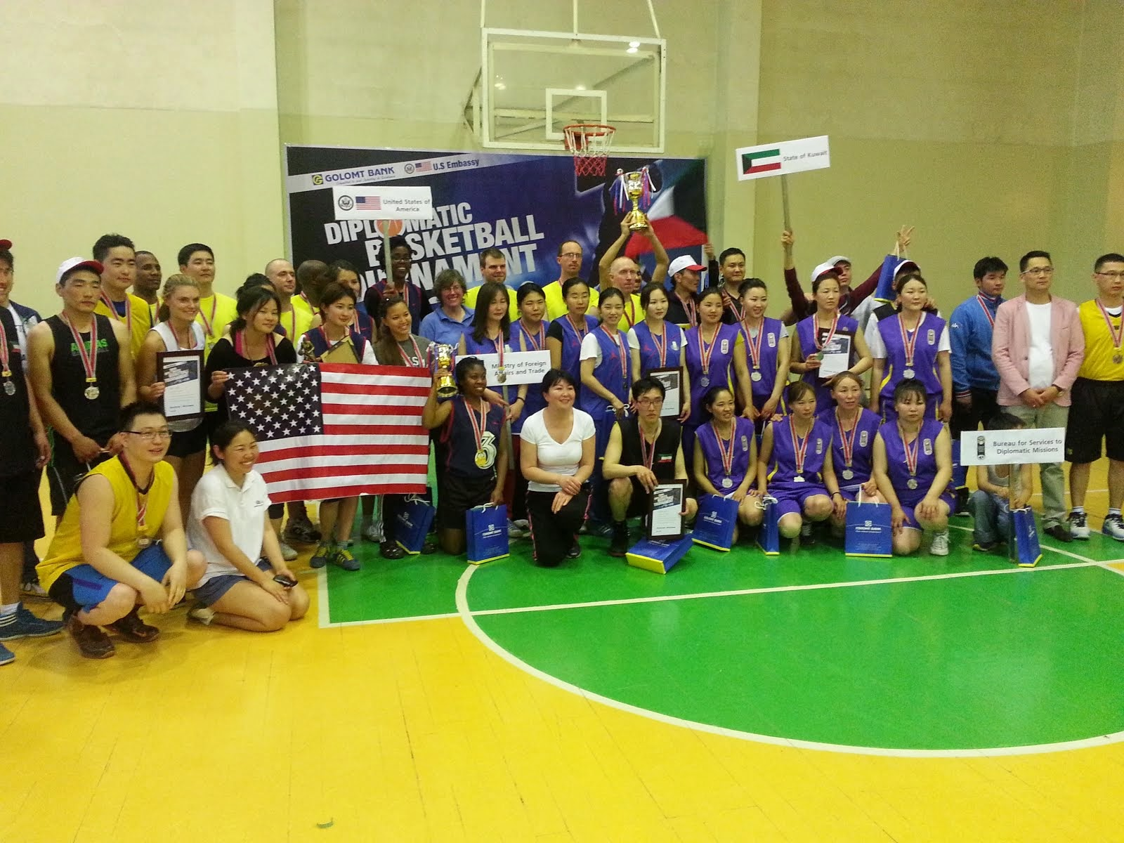 3rd Annual Diplomatic Basketball Tournament