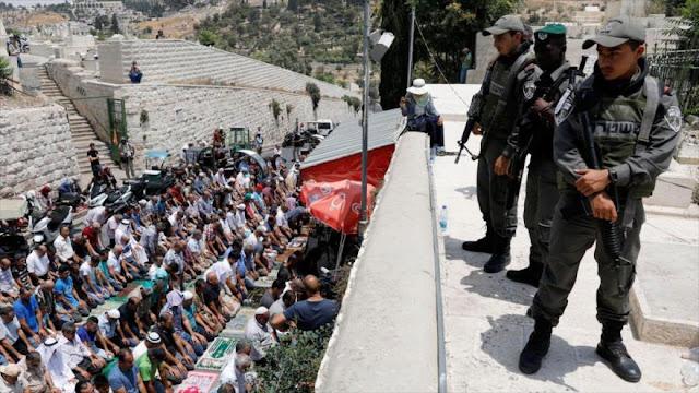 Israel prohíbe entrada a Al-Quds a palestinos menores de 50 años