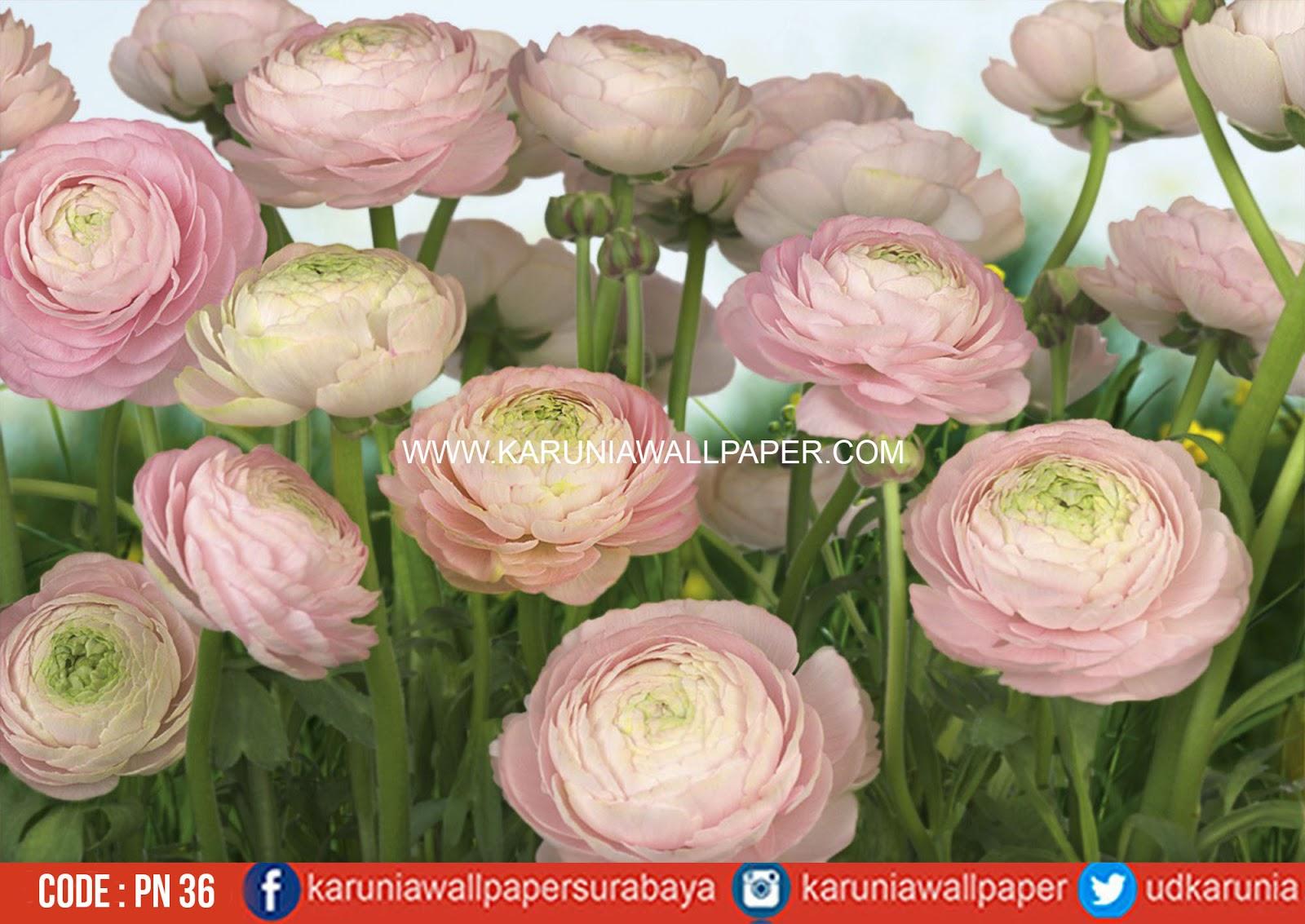 fotowall bunga
