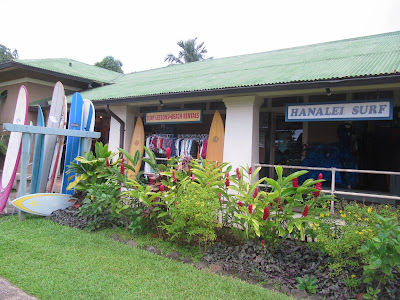 Hanalei Surf Company Exterior