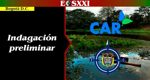 La de Cundinamarca es una de las 7 CAR a las que Procuraduría abrió indagación preliminar