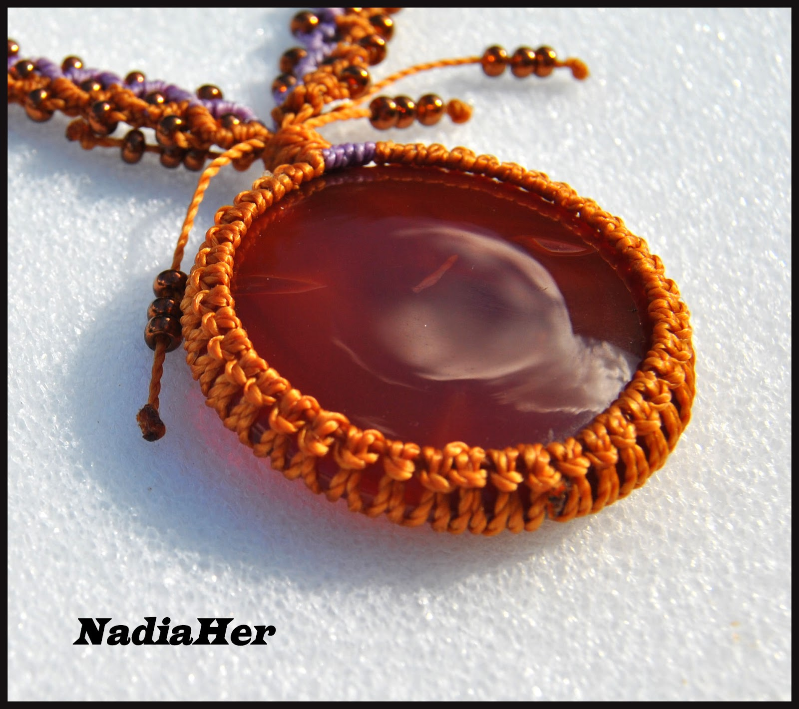 Les Bijoux De Nadia Frivolite Macrame Fimo Transfert Wire Wrapping