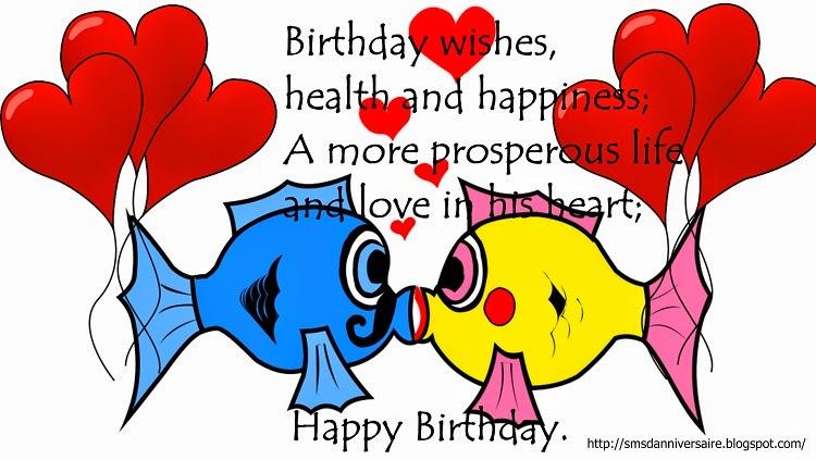 anniversaire de naissance en anglais