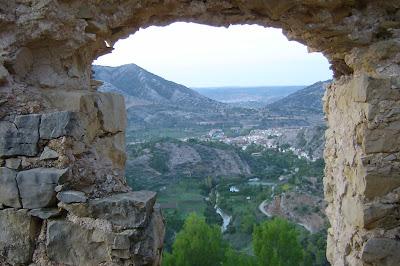Beseit, Fortins de Cabrera, fortines de Ramón Cabrera , Beceite, vista pueblo