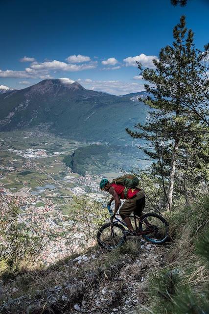 Mountainbiketouren am Gardasee zum gratis downloaden
