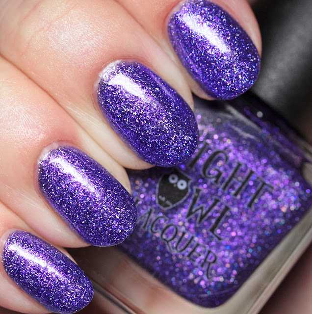 Night Owl Lacquer Tastes Like Purple