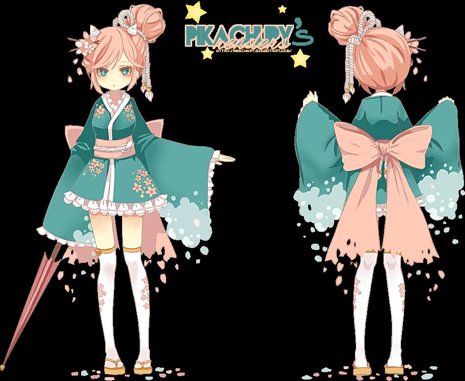 render kimono