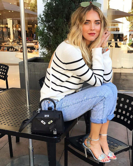 Chiara Ferragni and Her Hermes
