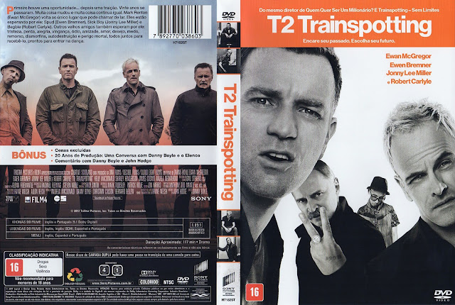 Capa DVD T2 Trainspotting (Oficial)