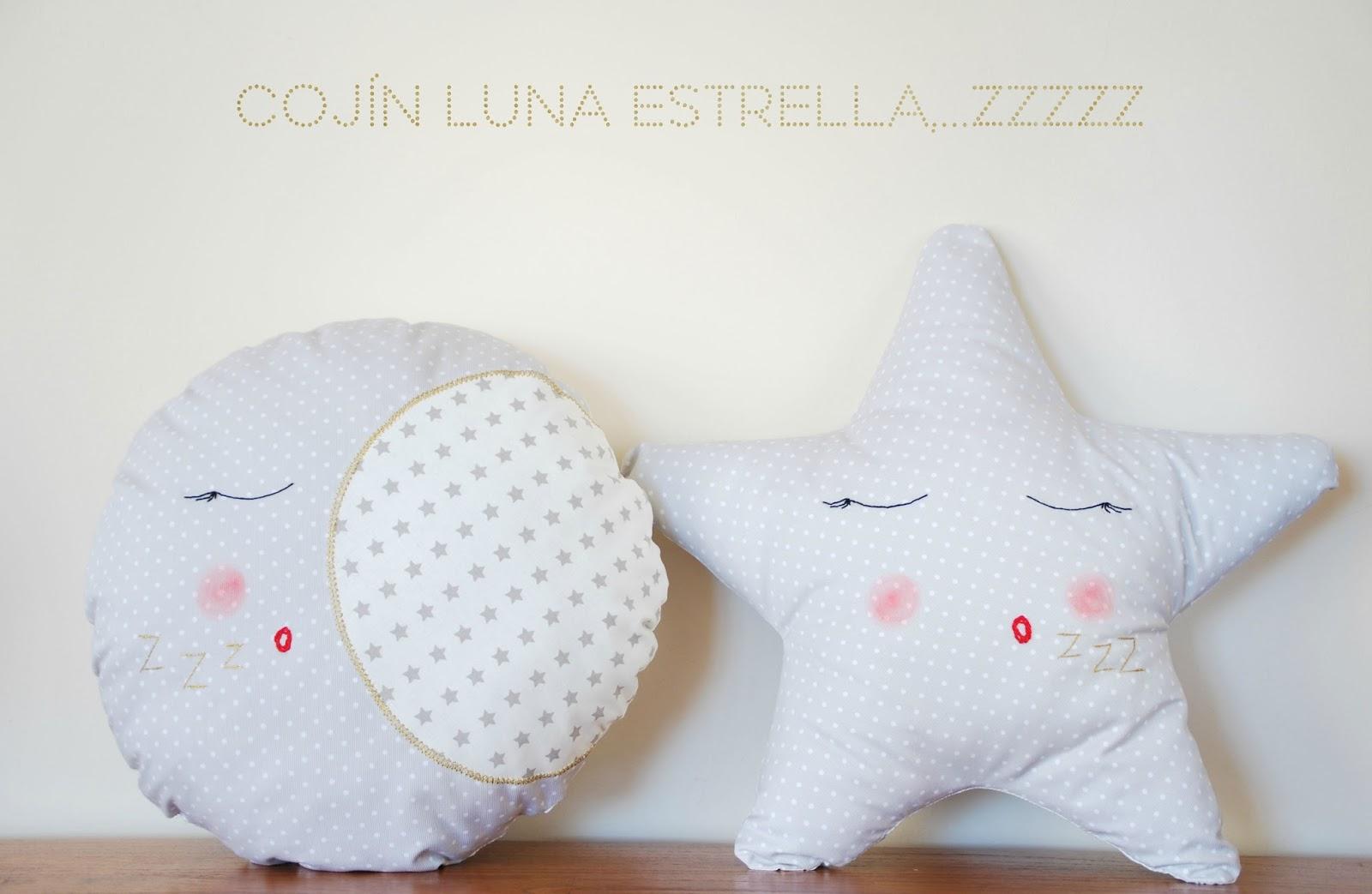 YourVera: DIY: COJIN LUNA Y ESTRELLA