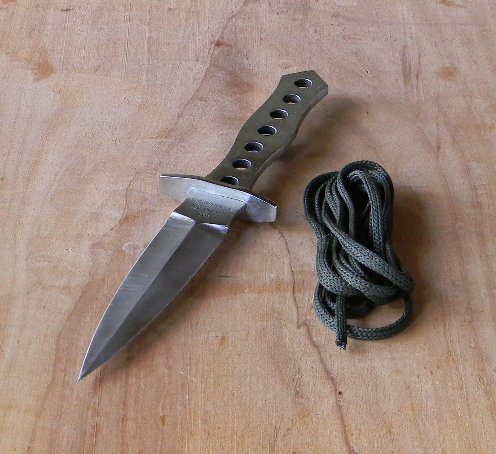 El Centinela Cuchillos Artesanales Tactical Dagger diseo de una Daga Tctica