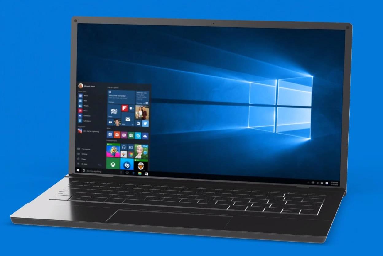 Internet's Best Secrets: Windows 10 wallpaper is made of light