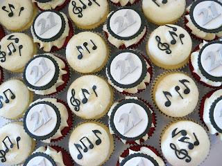 Music cupcakes
