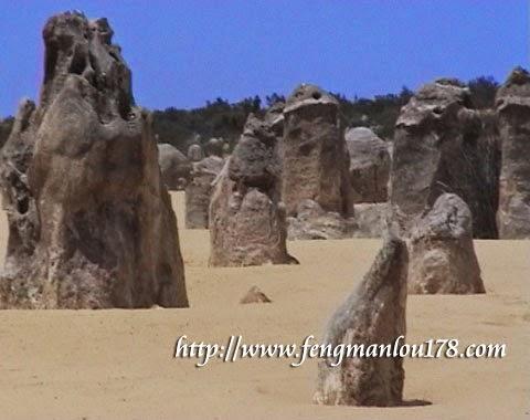 尖峰石阵沙漠