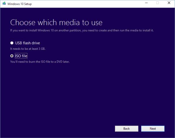تحميل النسخة النهائية من ويندوز 10 ملف ISO من مايكروسوفت.