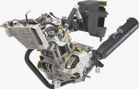 cara merawat mesin motor