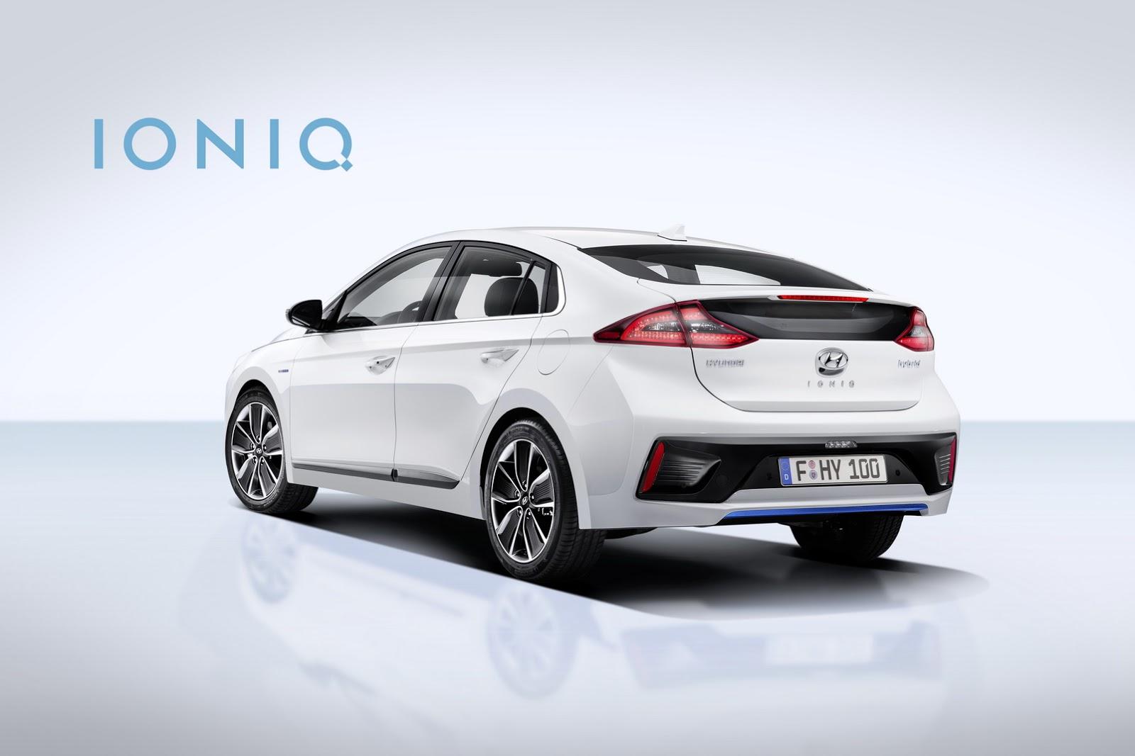 Hyundai Ioniq chạy Hybrid ra mắt trước thềm Geneva Motor Show 2016