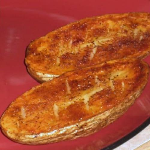 Crispy Potato Halves Recipe