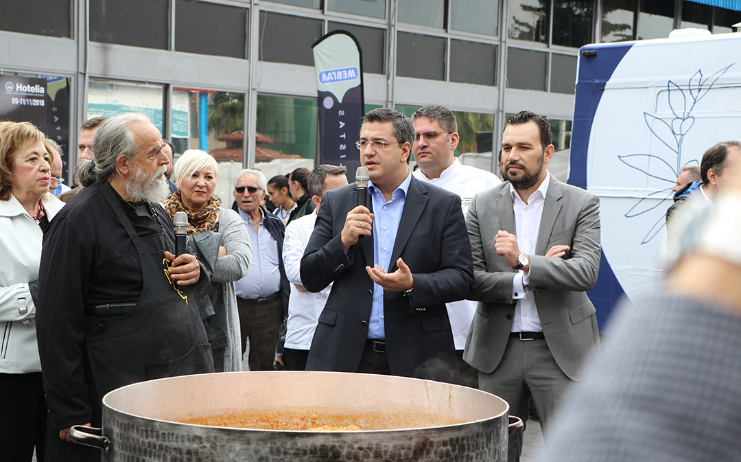 Το «Λεωφορείο της Μακεδονικής Κουζίνας» της Περιφέρειας  Κεντρικής Μακεδονίας ξεκίνησε το ταξίδι του στην Ευρώπη    από την 34 η Philoxenia