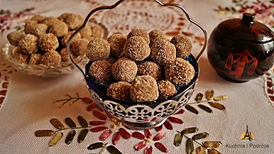 Kuleczki z herbatników