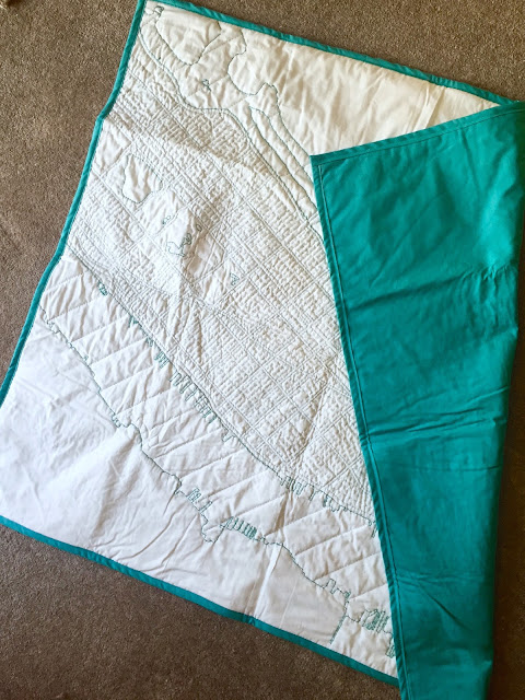 Diary of a Chain Stitcher: Haptic Lab New York City DIY Quilt