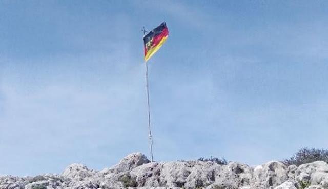 Φυλάκιση 10 μηνών σε γερμανούς αξιωματικούς που κατέβασαν την ελληνική σημαία