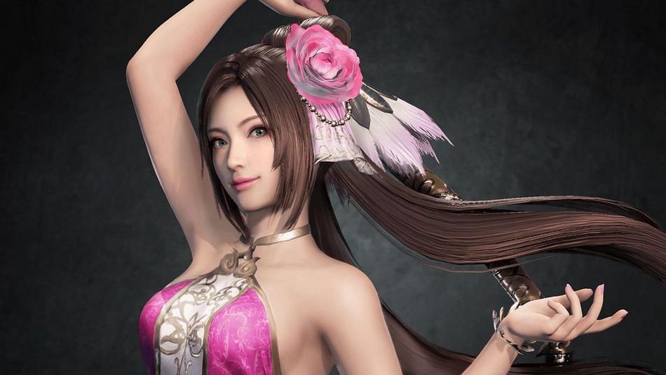 beautiful woman in video games