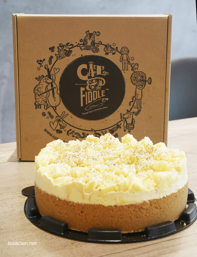 King Cat of the Mountain (Non-baked Durian Cheesecake) - Whole Cake (RM139)