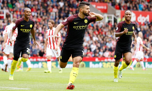 Premier League: Stoke City Vs Manchester City 1 – 4 (RESULT)
