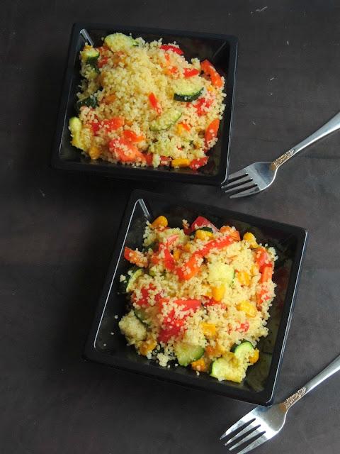 Mixed Vegetable Couscous Tabbouleh