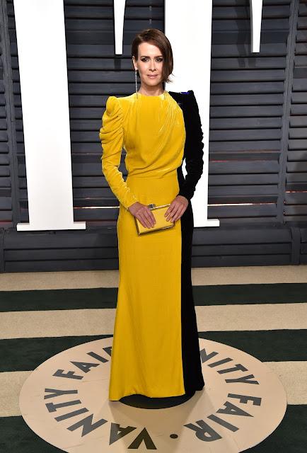 Sarah Paulson at the 2017 Vanity Fair Oscars After Party_full
