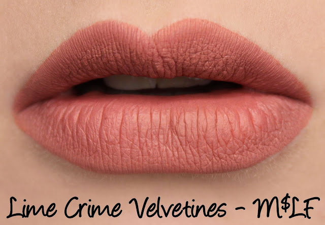 Lime Crime M$LF Velvetines Collection - M$LF Swatches & Review