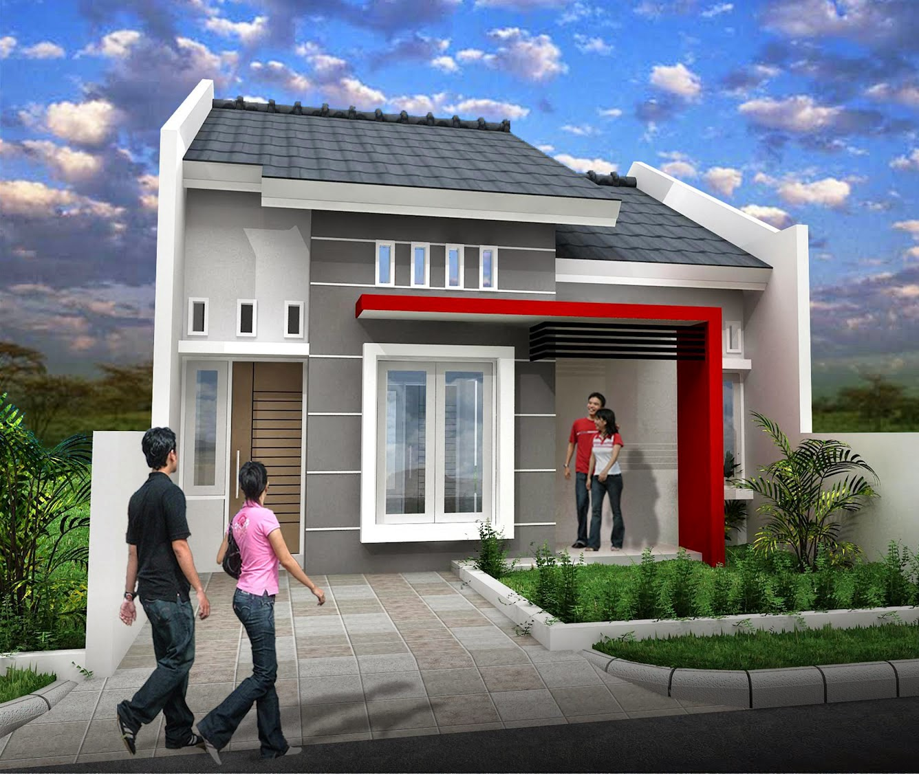 Rumah Minimalis Sederhana Type  36  Desain  Rumah Minimalis