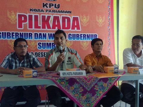 KPU Pariaman Tetapkan Syarat Minimal Dukungan KTP bagi Calon Independen