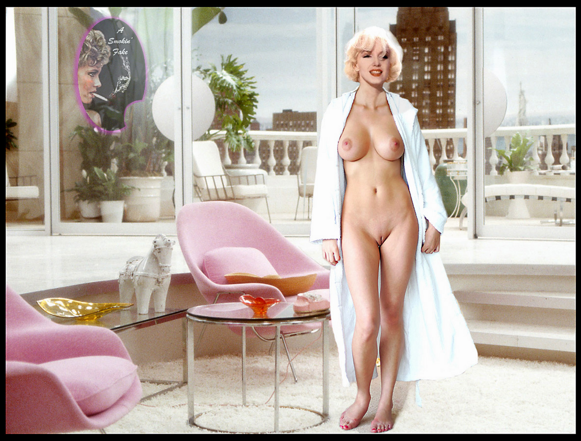 Naked Celebrity Girls Marilyn Monroe-3626