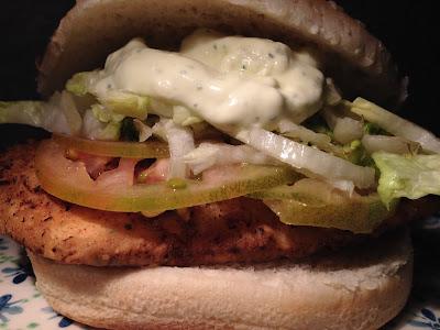 Hamburguesa de pollo - Chicken burguer - Receta - el gastrónomo - Álvaro García - ÁlvaroGP